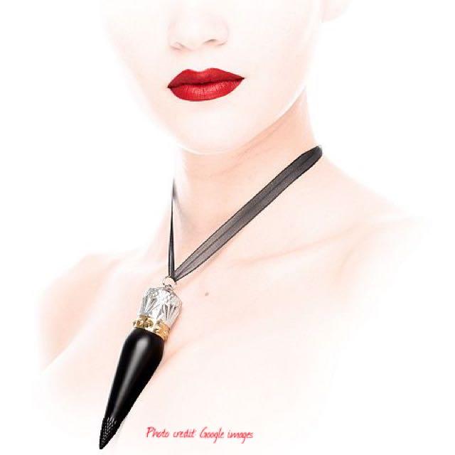 bas prix ecb7b 12821 ROUGE LOUBOUTIN VELVET MATTE] Christian Louboutin Lipstick ...
