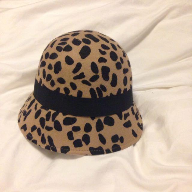 Leopard Print ALDO hat