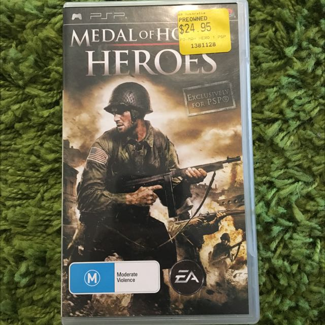 ✨Medal Of Honor Hero's PSP game