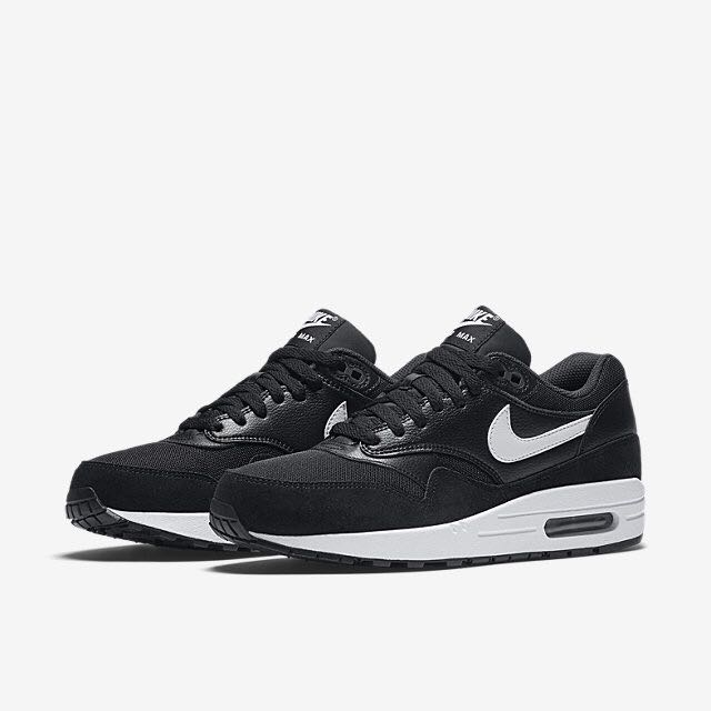 free shipping thoughts on official site Nike Air Max 1 Essential (Women) - Black/White, Sports on ...