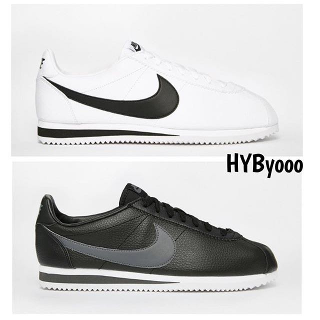 Nike Cortez leather 阿甘鞋