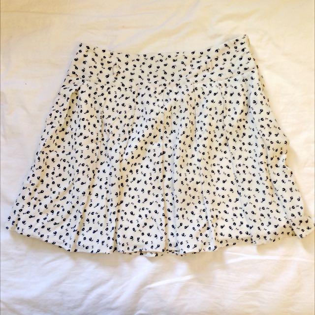 Patterned Skirt Size 12