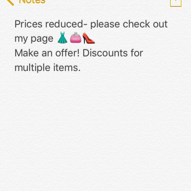 Reduced Prices!!