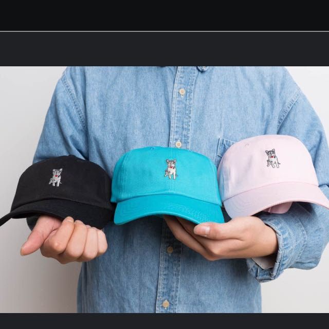 SHIBA黑柴帽 老帽 棒球帽 Polo  柴犬