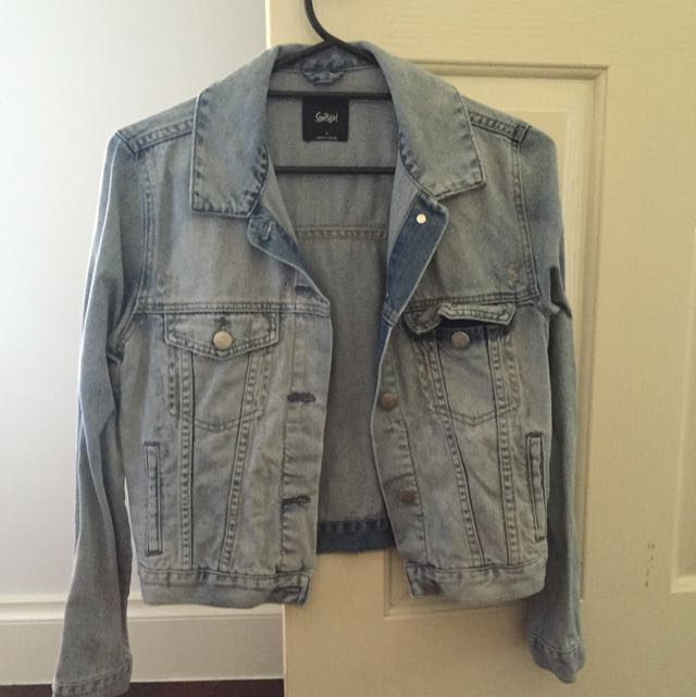 Sportsgirl Denim Jacket - Size 6