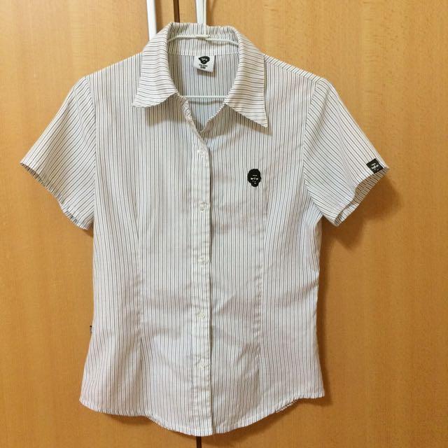 TARGET條紋襯衫