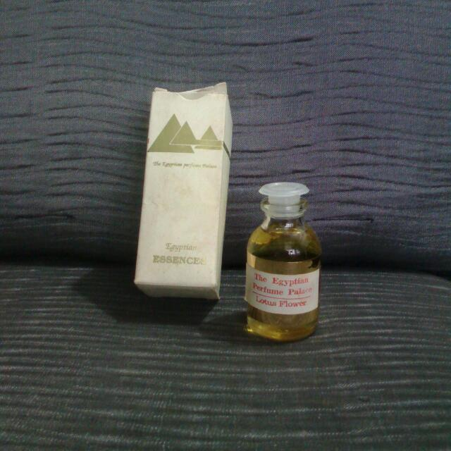 The Egyptian Perfume Palace Lotus Flower Health Beauty On Carousell