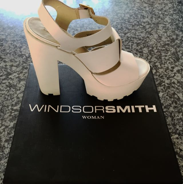 Windsor Smith Fondal White Leather