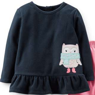 Authentic Carter's Microfleece Top Sweater Pullover 18 Months