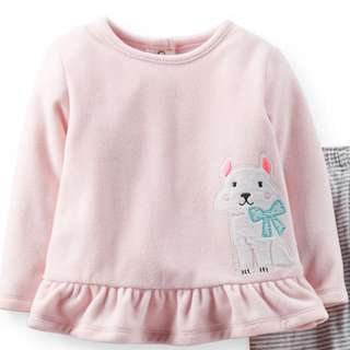 Authentic Carter's Microfleece Top Pullover Sweater 18 Months