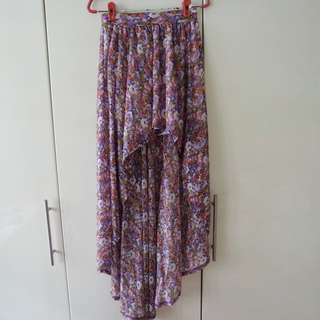 BN Supre Floral Waterfall Skirt XXS