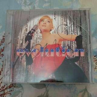 濱崎步親筆簽名單曲