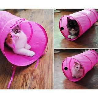 Instock- Kitty Cat Fun Tunnel