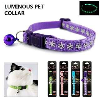 Luminous High Quality Pet Cat Collar #1