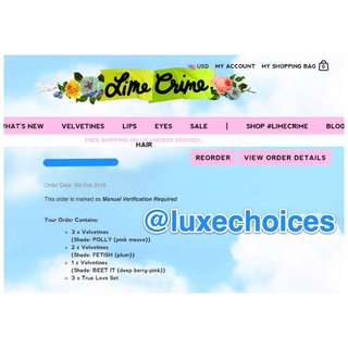 Only Authentic Items in Luxe Choices!!!