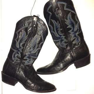 Men's Cowboy Boots (Justin Brand) Size 11.5