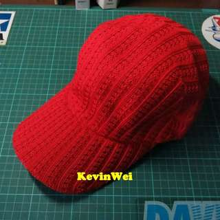 中華民國 棒球帽 針織 紅 台灣 Baseball Cap ROC Taiwan