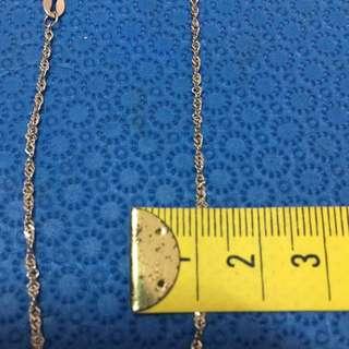 義大利s925 純銀項鍊 單鏈