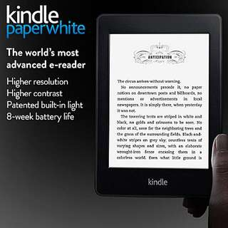 NO ADS Brand New Sealed Kindle Paperwhite 2015 300ppi 4GB