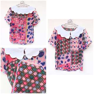COLORFUL CUTE TOP