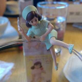 (保留中)杯緣子小護士系列 綠色打針款💉
