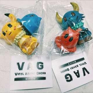 VAG 日本 扭蛋 藍色款