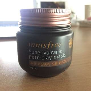 [ PENDING ] Innisfree Super Volcanic Pore Clay Mask