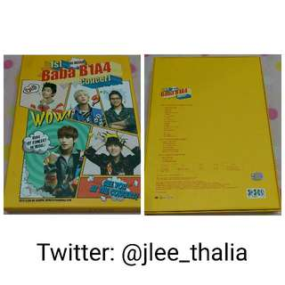Baba B1A4 Concert 1st in Seoul