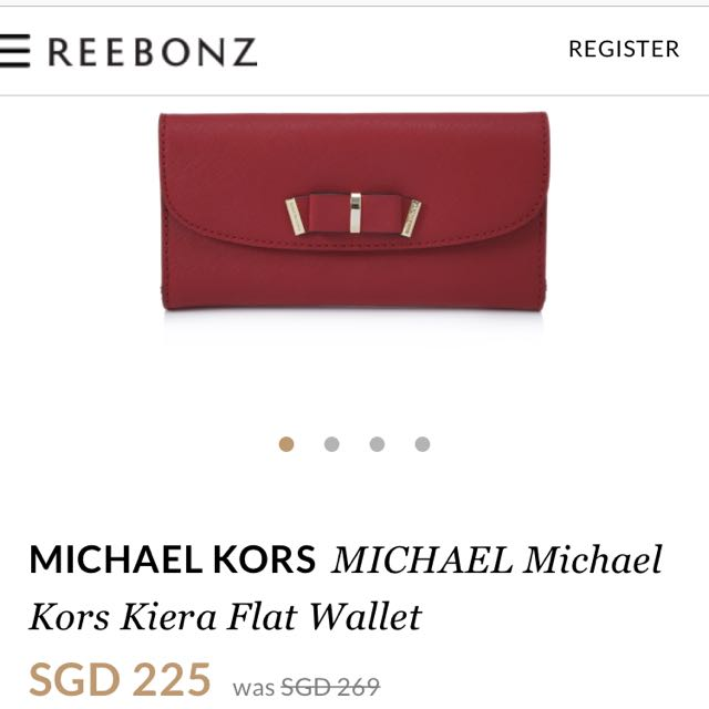 michael kors wallet kiera