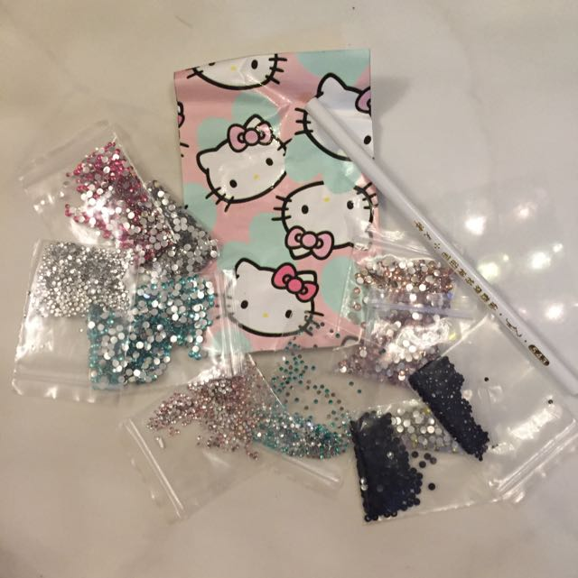 Diy Handicraft Phone Cover Bejewelled Beads Decorations Cabochon