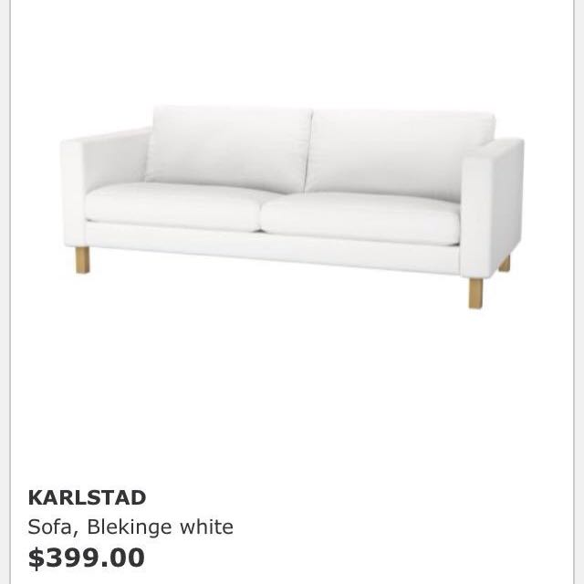 Strange Karlstad Ikea Sofa Gmtry Best Dining Table And Chair Ideas Images Gmtryco