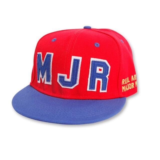 major雙層貼布棒球帽