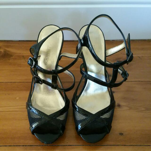 MIMCO Leather Heels Size 37