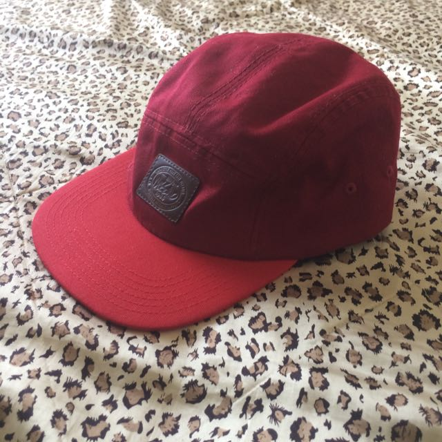 Mossimo Red/floral SnapBack/Five Panel Hat