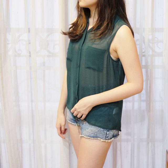 see trough green top