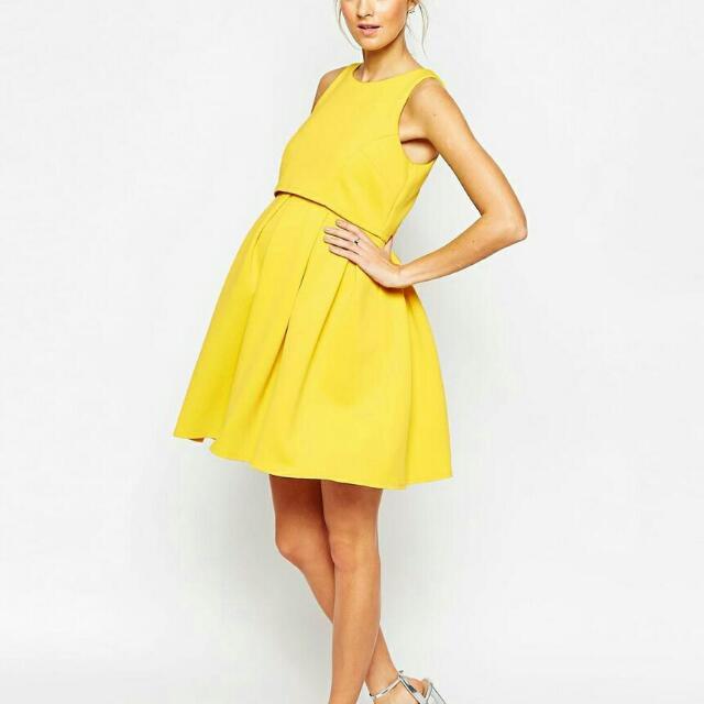 dbac20d0e5bfe Asos Size 8 Pregnancy dress, Women's Fashion on Carousell