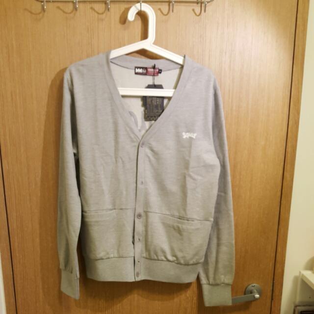 (新品含運)SQUAD V領棉質軍衫外套