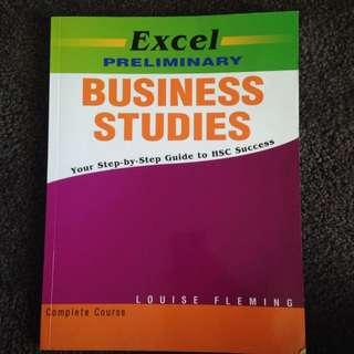 BUSINESS STUDIES EXCEL PRELIM GUIDE