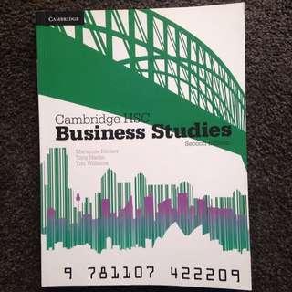 CAMBRIDGE HSC BUSINESS STUDIES