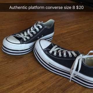 Authentic Converse Platforms