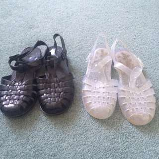2 For 1 Jelly Sandals
