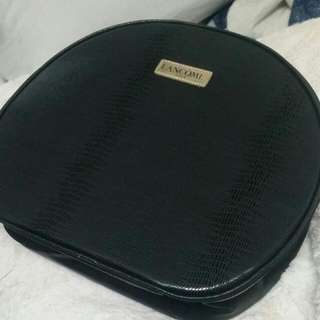 BRAND NEW Lancome Faux Snake Skin Makeup Bag