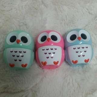 Forever 21 Owl Lip Balm Trio
