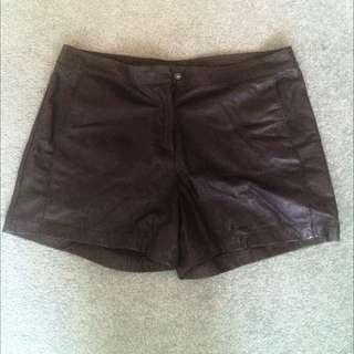 Portmans Leather Shorts