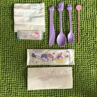 Hello Kitty Dining Collection Set
