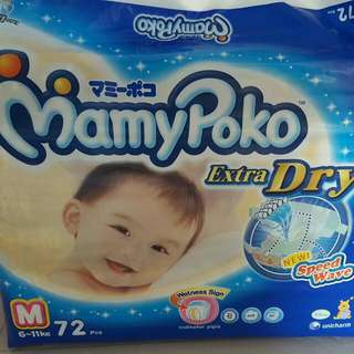 Mamy Poko Tape Diapers M Size