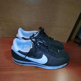 Nike 麂皮 鐵牌 復古阿甘鞋