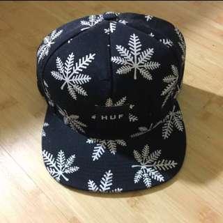 HUF 大麻經典 帽子 全新 黑白