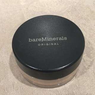 Used Bare Minerals Powder