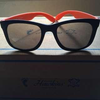 2支galoop/ 墨鏡橘色邊/ 黑框眼鏡棕色邊/ 皆霧面/ glove/ 無度數